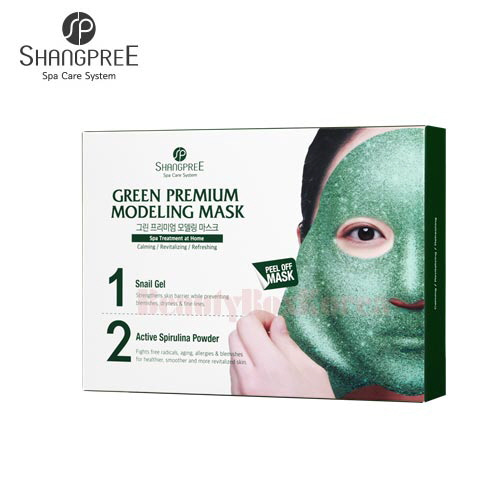 SHANGPREE Green Premium Modeling Mask 50g*5 4.5g*5ea