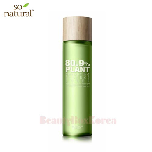 SO NATURAL 80.9% Plant Sprouting Essence Toner 175ml