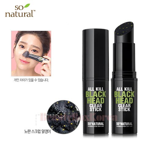 SO NATURAL All Kill Black Head Clear Stick 11g