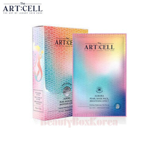 THE ART CELL Aurora Pearl Mask Pack 30g*10ea
