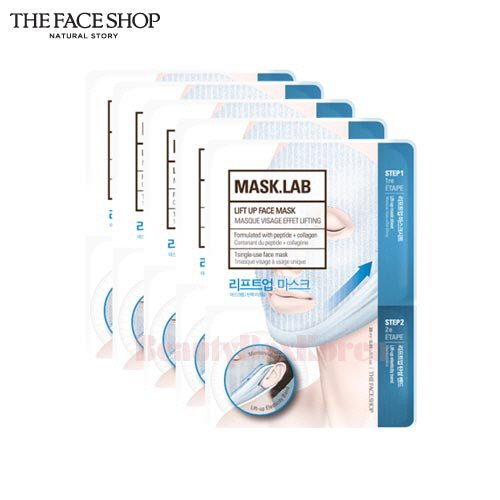 THE FACE SHOP Mask.Lab Lift Up Face Mask 25ml*5ea