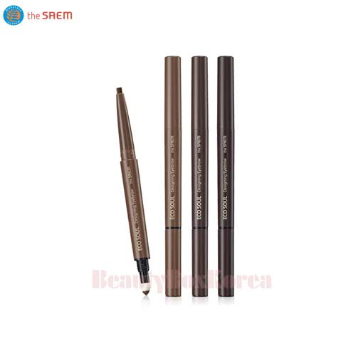 THE SAEM Eco Soul Designing Eyebrow 0.2g+0.12g