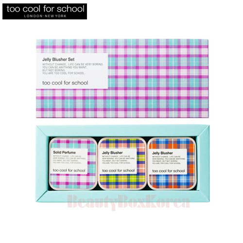 TOO COOL FOR SCHOOL Jelly Blusher Set 3items