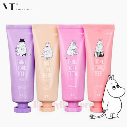 VTº Think Your Teeth Child Toothpaste 100g [Moomin Edition]