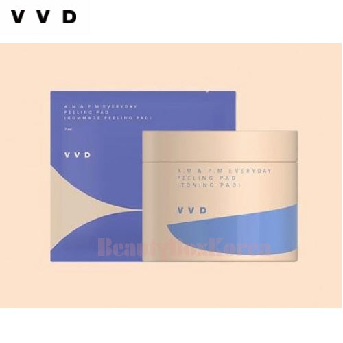 VVD A.M &P.M Everyday Peeling Pad Set 135ml(60ea)+35ml(7ml*5ea)