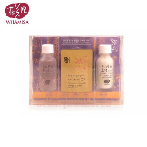 WHAMISA Organic Flowers Special Kit 3items
