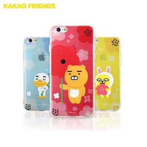 KAKAO FRIENDS Flower Jell Hard Phone Case