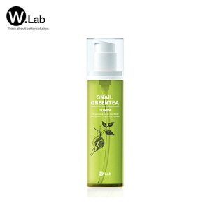 W.LAB Snail Green Tea Toner 100ml, W.LAB