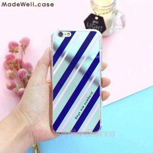 MADEWELL-CASE Sha Sha Mirror Navy&Pink