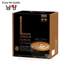 NAMYANG Lookas 9 Double Shot Latte 14.9g*30T,NAM YANG,Beauty Box Korea