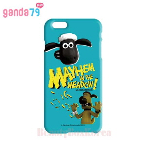 GANDA79 10Kinds Shaun the Sheep 3D Curve Hard Phone Case