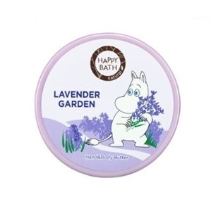 HAPPY BATH Moomin Lavender Garden Hand & Body Butter 30g, HAPPY BATH