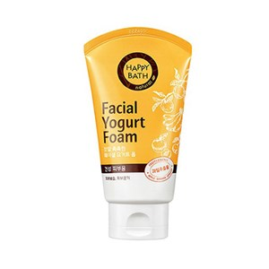 HAPPY BATH Facial Yogurt Foam # Moisture (fruits) 120g, HAPPY BATH