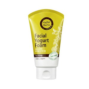 HAPPY BATH Facial Yogurt Foam #Herb 120g, HAPPY BATH