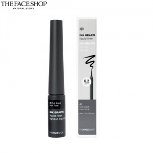 THE FACE SHOP INKGRAFFI Liquid Liner #01 Full Black [THE FACE SHOP Ink Graffi Liquid Liner], THE FACE SHOP
