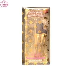 ETUDE HOUSE Holiday Brush Pouch Set (1 Pouch & 3 Brushes) Limited, ETUDE HOUSE