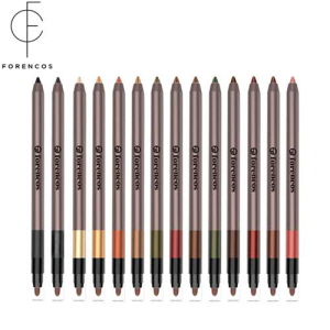 FORENCOS Long Lasting 14 Water Proof Eyeliner 1.8g [1+1]