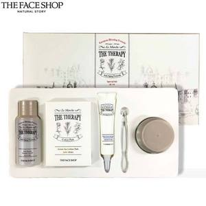 [mini] The face shop The Therapy Special Kit 3items + Green Tea Cotton Pads 5ea