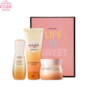 ETUDE HOUSE Moistfull Collagen Special Set 3items [LIFE IS SWEET]