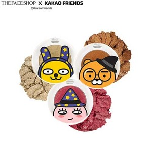 THE FACE SHOP Single Shadow Glitter 1.4g[KAKAO FRIENDS Halloween Special Edition]