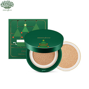 INNISFREE Christmas Ampoule Moisture Cushion Special Set 14g*2  [Christmas Limited Edition 2016]