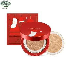 INNISFREE Christmas Ampoule Cover Cushion Special Set 14g*2  [Christmas Limited Edition 2016]