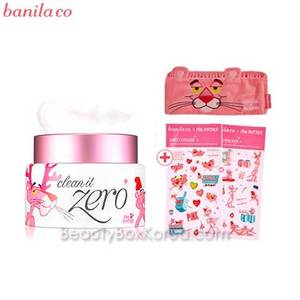 BANILA CO. Clean It Zero 100ml [Pink Panther Limited] with Pink Panther Free Gift(Hair band & deco sticker)
