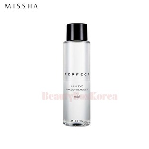 MISSHA Perfect Lip & Eye Makeup Remover [Mild] 155ml