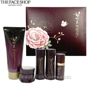 The Face Shop Hwansaenggo Gold Cleansing Foam Special Set 5 items