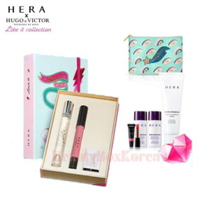 HERA Dessert Box Special Gift Set 9items [HERA Hugo & Victor Like It Collection]