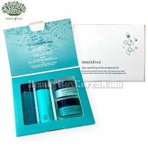 [mini] INNISFREE Jeju Sparkling Mineral Special Kit 4items