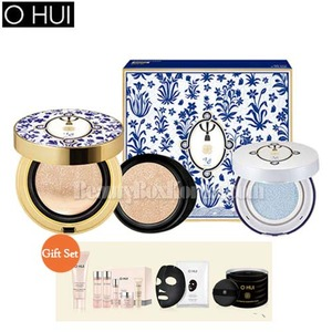 OHUI Ultimate Cover Cushion Moisture Gift Set1 [TEO YANG Edition]