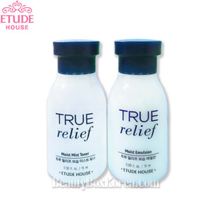 [mini] ETUDE HOUSE True Relief Moist Mist Toner15ml + Emulsion15ml