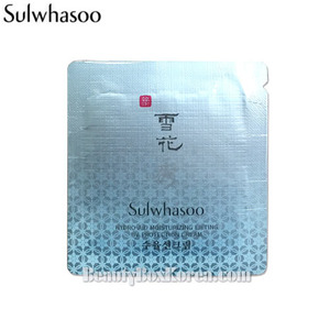 [mini] SULWHASOO Hydro-aid Moisturizing Lifting UV Protection Cream SPF50 1ml*10ea,SULWHASOO,Beauty Box Korea