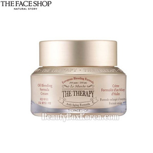 [mini THE FACE SHOP The Therapy Royal Made Oil Blending Cream 30ml,THE FACE SHOP,Beauty Box Korea