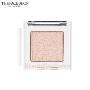 THE FACE SHOP Mono Cube Eye Shadow 1.6g (Top Coat #WH01 Wedding Vail )