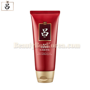 RYO Hambit Camellia Seed Nourishing Treatment (for thin and damaged hair) 180ml, RYO
