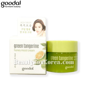 [mini] GOODAL Green Tangerine Honey Moist Cream 10ml