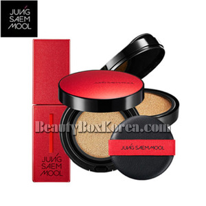 JUNGSAEMMOOL Skin Nuder Cushion & Lip Lacquer Set [Artist Red Edition],JUNGSAEMMOOL ,Beauty Box Korea