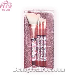 ETUDE HOUSE Twinkle Mini Brush Set ,ETUDE HOUSE,Beauty Box Korea