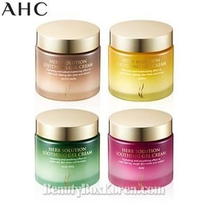 AHC Herb Solution Soothing Gel Cream 100ml