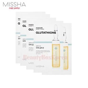 MISSHA Mascure Sheet Mask 28ml*10ea