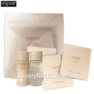 [mini] ESPOIR Pre Face 3-Day 3-Step Kit 1ea