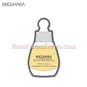 MIGUHARA Big3 Step Ample Mask Pack 25ml,MIGUHARA
