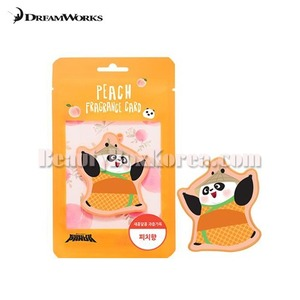 DREAMWORKS Kung Fu Panda Fragrance Card-Peach 1ea
