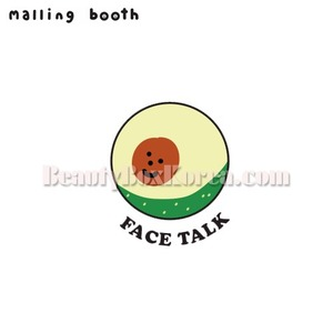 MALLING BOOTH Handy Talk Face Ver.1 1ea