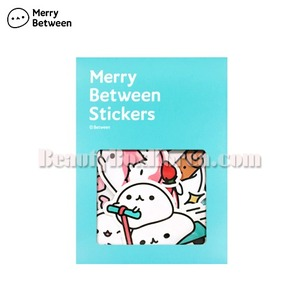 MERRY BETWEEN Deco Stickers-Mochi 1ea