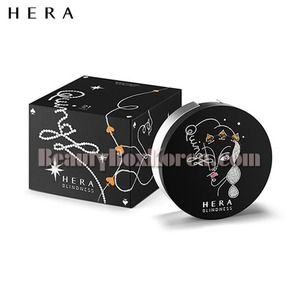 HERA Holiday Black Cushion 15g*2ea[HERA X BLINDESS],Beauty Box Korea