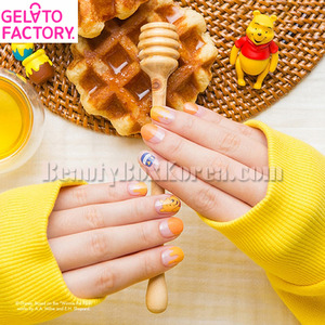 GELATO FACTORY Hatto Hatto Nail Fit 1ea [Disney Edition]