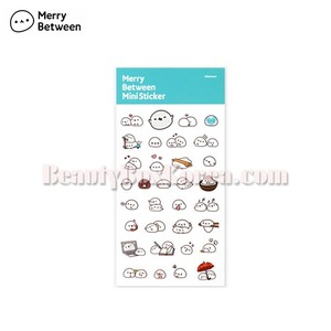 MERRY BETWEEN Mini Sticker-Mochi 1ea